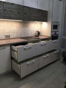 кухня с фасадами тсс, TSS
